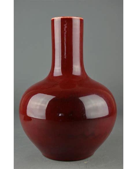 Sang De Boeuf Vase by Flambe Sang De Boeuf Glazed Vase Yongzheng