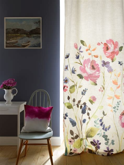 painting on curtains bluebell gray de la couleur dans votre int 233 rieur cocon