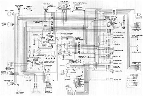 tech wiki wiring diagram datsun 1200 club
