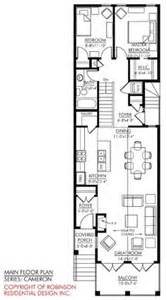Skinny House Plans by Lot Narrow Plan House Designs Craftsman Narrow Lot House