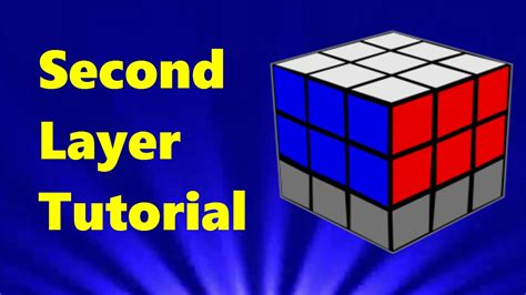 tutorial rubik square king how to solve a rubik s cube second layer tutorial part