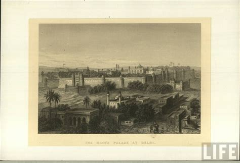 The King S Palace the king s palace in delhi 1800 s india vintage