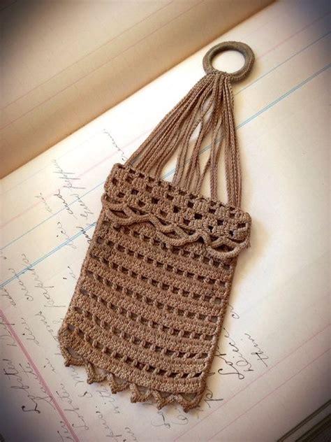 crochet dickens misers purse pattern antique victorian crocheted misers purse antiques