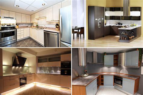 Multi Kitchen Set desain interior dapur minimalis sederhana nan kecil