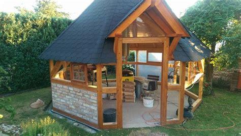 grillpavillon selber bauen grillkota selber bauen selber machen heimwerkermagazin
