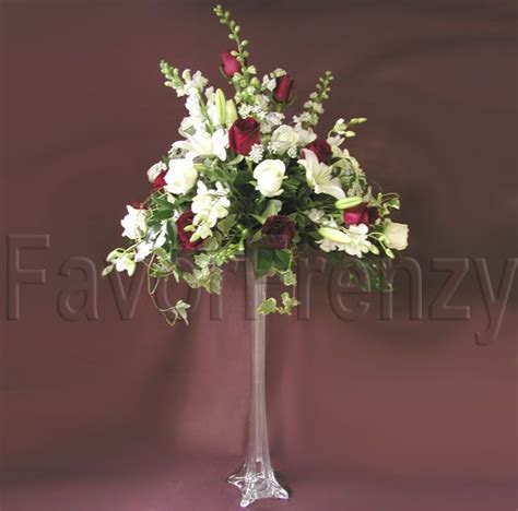 How To Arrange Flowers In A Tall Vase Eiffel Tower Flower Arrangements Eiffel Tower Flower