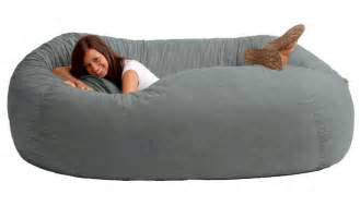 giant bean bag sofa dudeiwantthat com