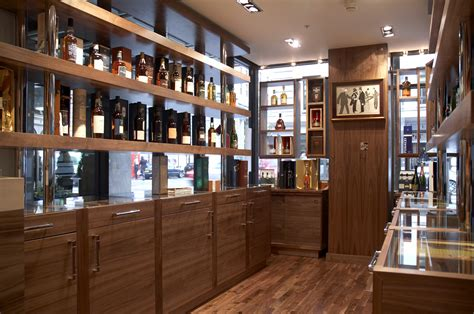 Mayfair Whisky Shop, London   Nicolas Tye Architects