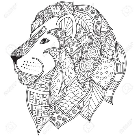 lion coloring page for adults get this lion coloring pages for adults free printable 88428