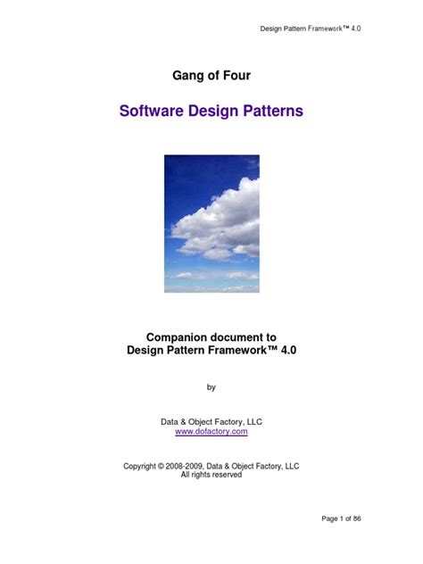 design patterns gamma helm johnson vlissides pdf design patterns the gang of four epub