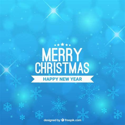 merry christmas light blue background vector