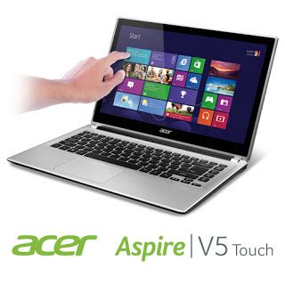 harga dan spesifikasi laptop acer aspire v5 touch screen