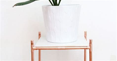 What Does Ips Stand For In Plumbing by Diy Copper Pipe Marble Plant Stand Pipes