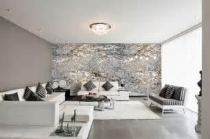 Wohnzimmer Tapeten Schwarz Weis Moderne Wohnzimmer Tapeten Tapeten Wohnzimmer Modern Grau