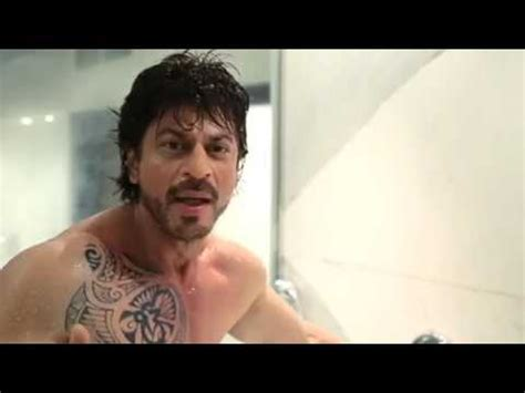 imran khan tattoo on chest srk in shower with cool tattoo youtube