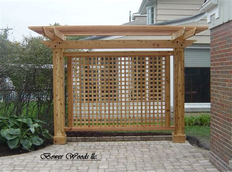 garden trellis plans bower woods llc custom garden structures trellis