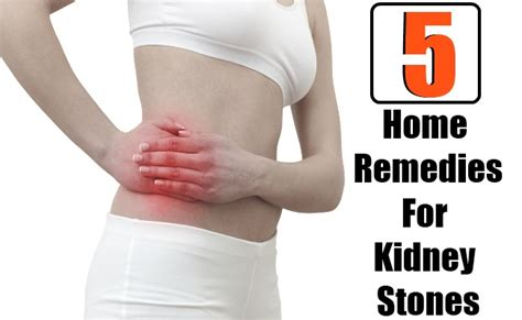5 home remedies for kidney stones diy health remedy