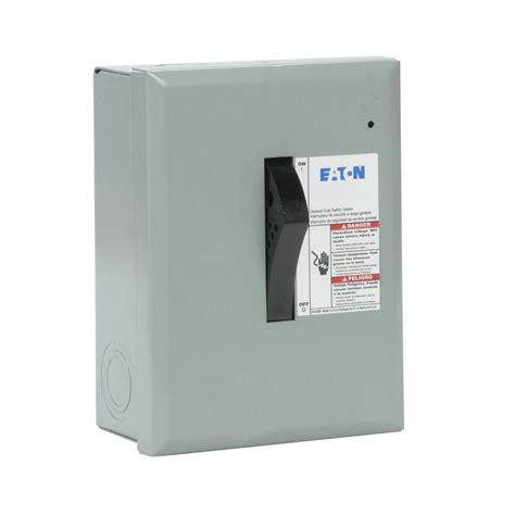 electrical plug fuse safety switch box  amp  volt  watt fused ez ebay