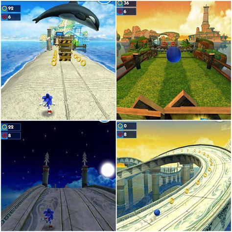sonic day new sonic dash update adds day modes sega nerds