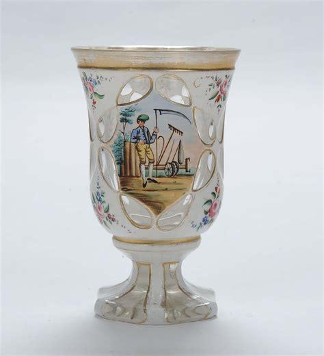 bicchieri boemia bicchiere boemia in vetro a doppio strato 1860