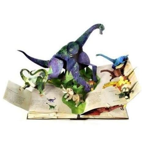 libro encyclopedia prehistorica dinosaurs the gorgeous pop up books for kids by robert sabuda