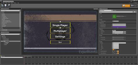 ui layout engine unreal engine 4 4 released