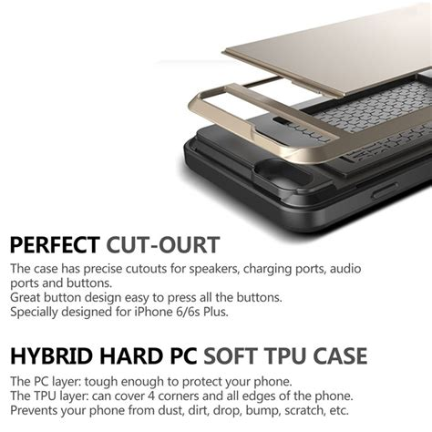 Iphone 7 Sgp Hybrid Card Slider Oem sgp hybrid tough armor with card slider for iphone 7