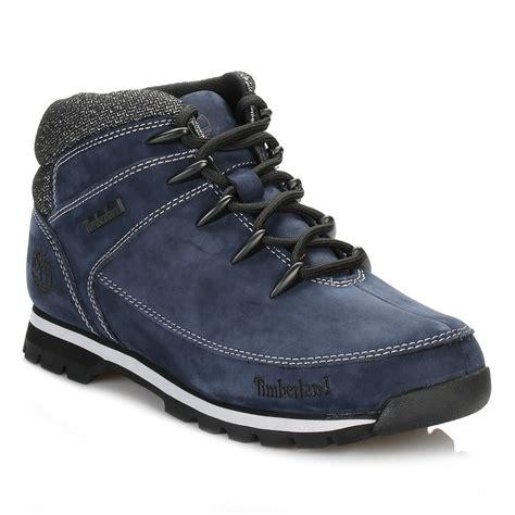 navy timberland boots timberland mens hiker boots navy blue sprint