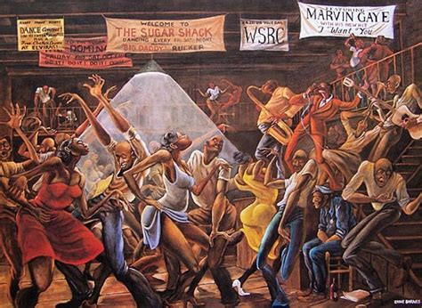 themes of the black arts movement ernie barnes innovative black artists exhibit