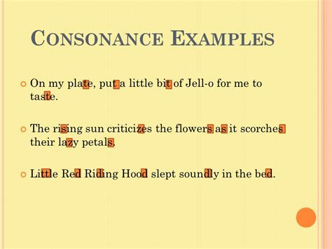 alliteration consonance assonance ppt video online