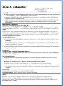 temporary administrative assistant resume resume downloads