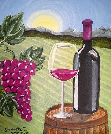 paint nite thunder bay paint nite wine country at bight