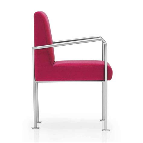 metal armchair jazz pink and metal armchair from ultimate contract uk