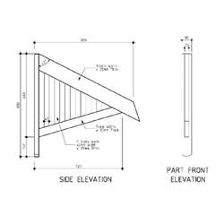 Diy Window Awning Plans Treated Window Canopys Timber Awnings Ah002r