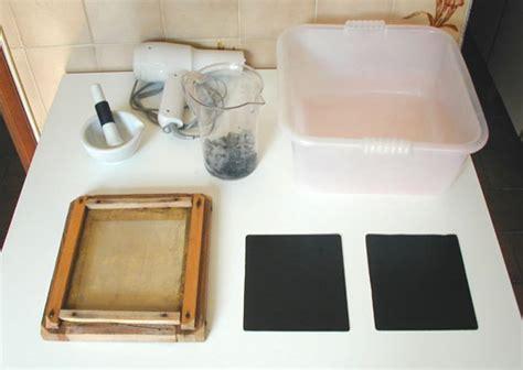 How To Make Recycle Paper At Home - fabbricazione e riciclo della carta
