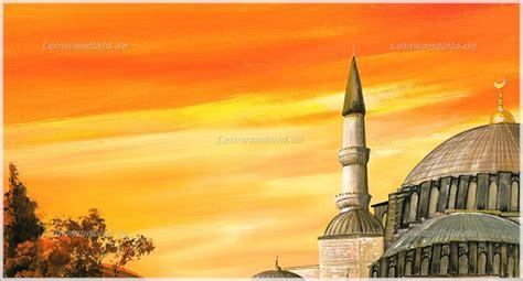 Suleman Motif leinwandbild motiv morro suleiman moschee