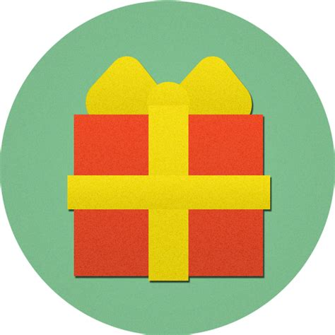 christmas gift present icon icon search engine