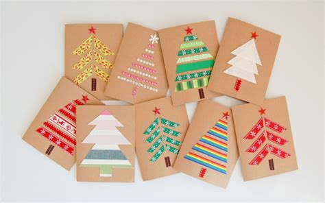 imagenes tarjetas originales tarjetas de navidad originales que puedes hacer en casa