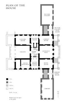 easton neston floor plan 5 easton neston towcester northtonshire proposed ground plan with outbuildings easton