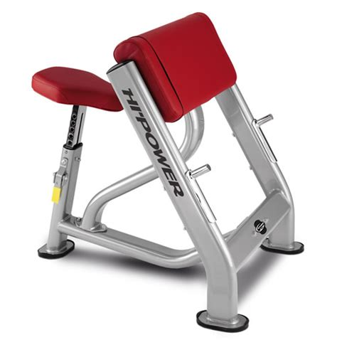 biceps bench bh hi power l830 biceps curl bench