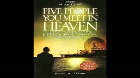 the five you meet in heaven book report my fav vg ost s the five you meet in