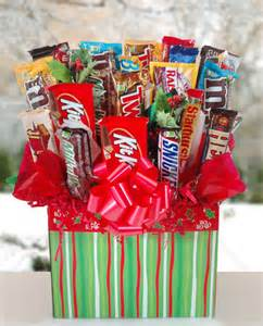 Christmas joy candy bar bouquet gourmet cookie bouquets