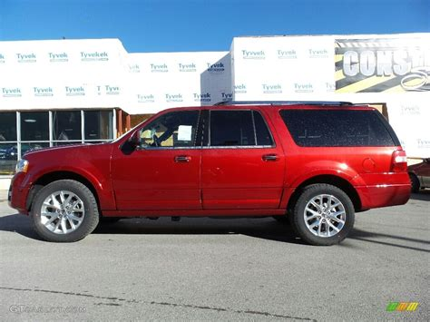 ford expedition red 2017 ruby red ford expedition el limited 4x4 115992268