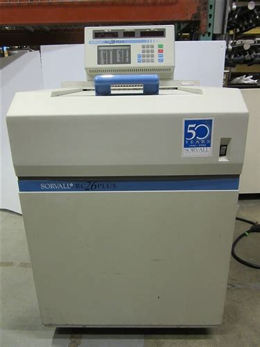 Sorvall Rc26 Plus Refrigerated Centrifuge Marshall