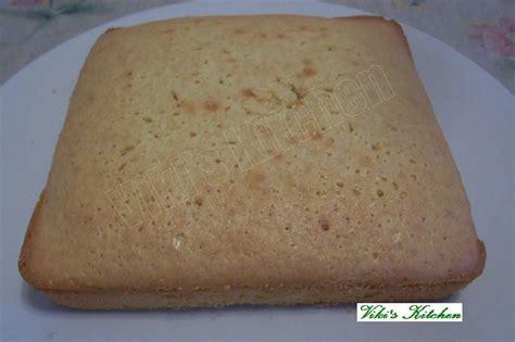 viki s kitchen plain vanilla cake