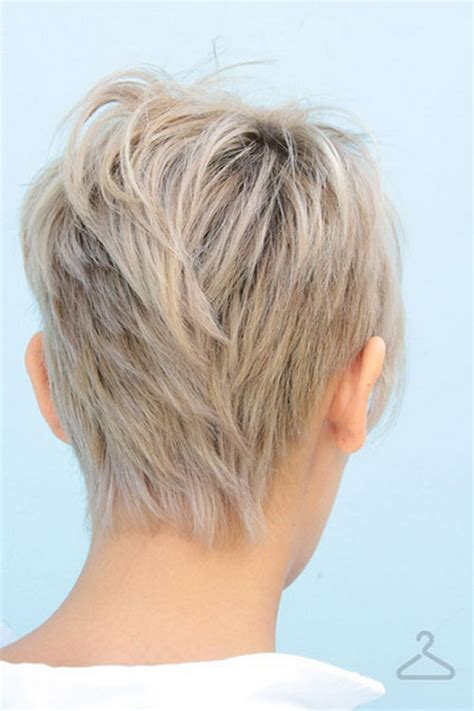 back view images of short hair styles on older woman back view of short haircuts for women