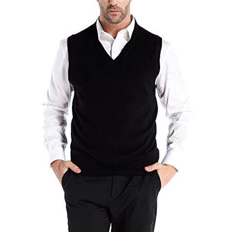 Wool Blend Knit Vest chauder men s wool blend relax fit vest knit v