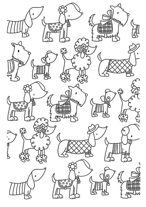 coloring pages for adults cute free coloring page coloring adult difficult dogs elegants