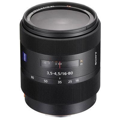 sony 16 80mm f3.5 4.5 za vs t* dt lens | uk camera