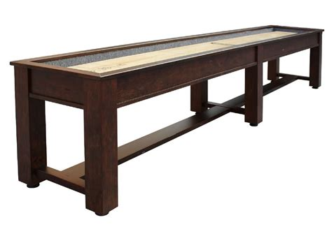 berner billiards 9 12 14 or 16 foot shuffleboard table